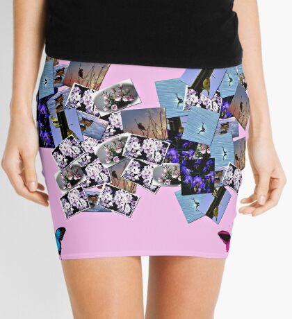 Butterfly Easter  Mini Skirt