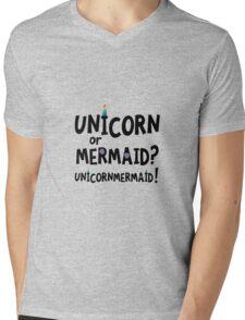 Unicorn or Mermaid R2f4x Mens V-Neck T-Shirt