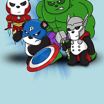 The PandAvengers by mrkyleyeomans