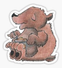 Pancake Bear Sticker