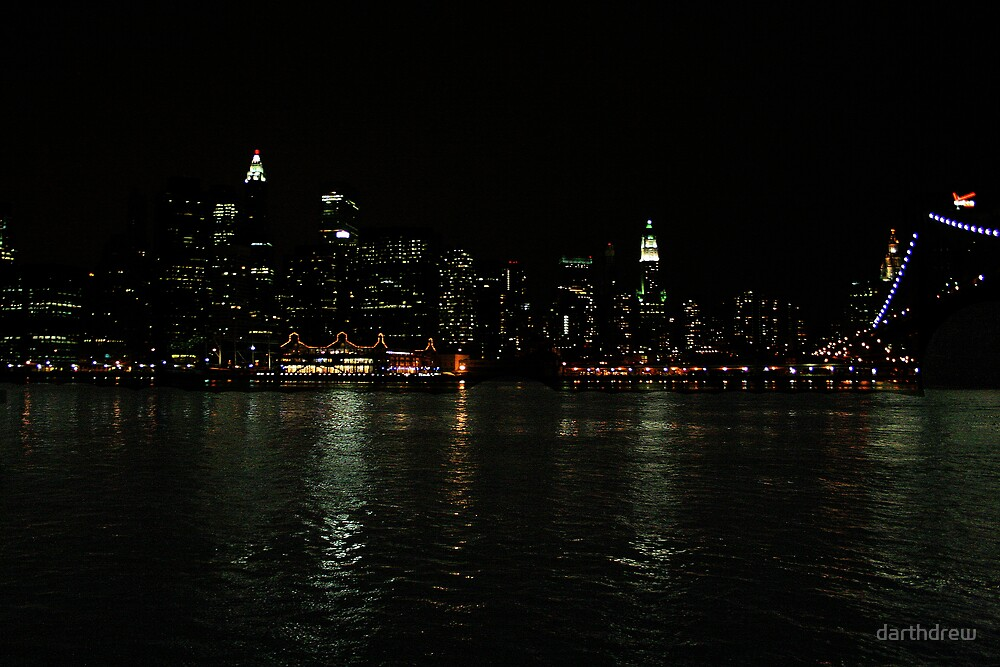 Manhattan Night by darthdrew