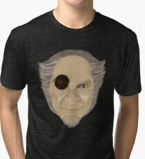 Count Olaf with Eye  Tri-blend T-Shirt
