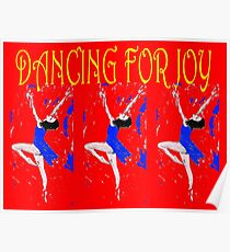 DANCING FOR JOY Poster