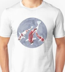Koi fish and peace Unisex T-Shirt