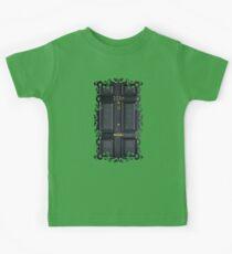 221b baker street black wood door Kids Clothes