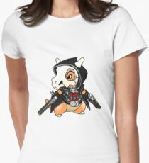 Reaper x Cubone  Womens Fitted T-Shirt