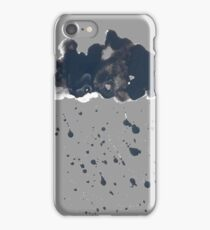 Inky Oil Cloud of Radiation iPhone Case/Skin