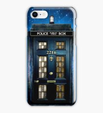 Detective Phone box with 221b number iPhone Case/Skin