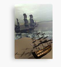 Ships Canvas Print