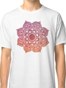 Mandala red Classic T-Shirt