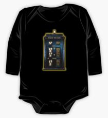 Detective Phone box with 221b number One Piece - Long Sleeve