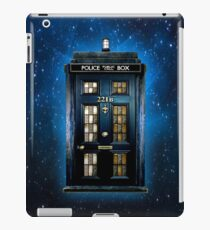Detective Phone box with 221b number iPad Case/Skin