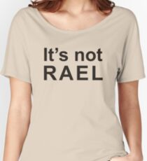 Gorillaz - It's not rael  Women's Relaxed Fit T-Shirt