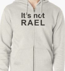 Gorillaz - It's not rael  Zipped Hoodie