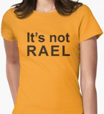 Gorillaz - It's not rael  Womens Fitted T-Shirt