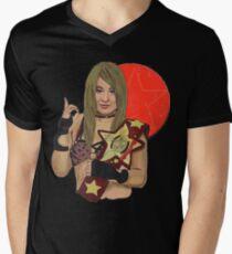 Io Shirai  Men's V-Neck T-Shirt