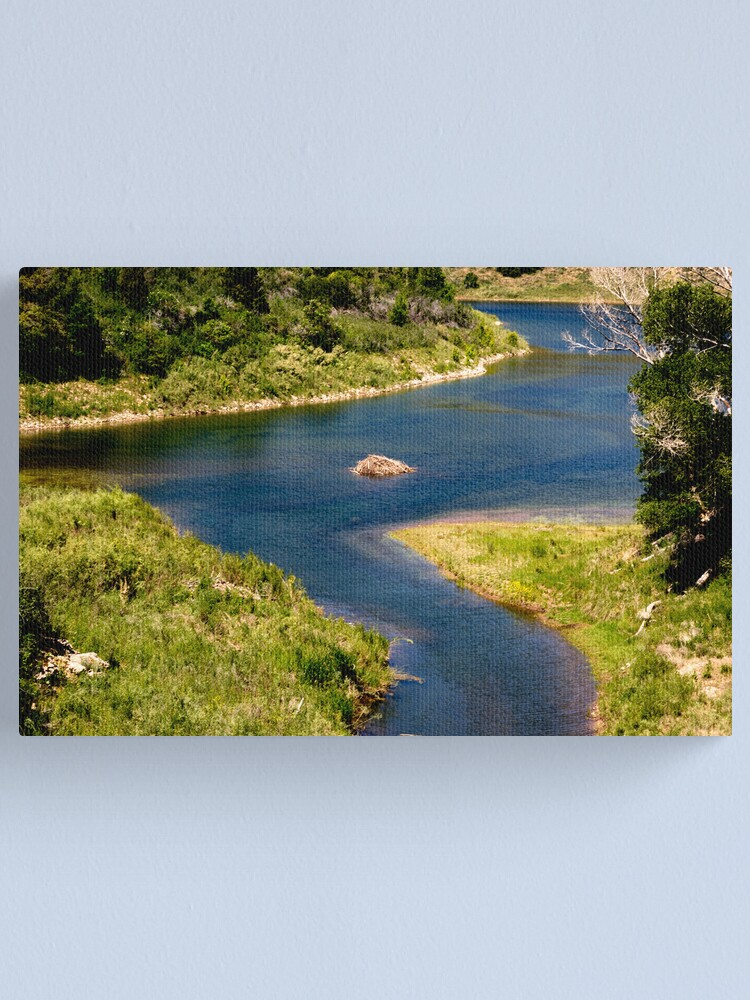 Alternate view of Ouinta Mountain Waterway Canvas Print