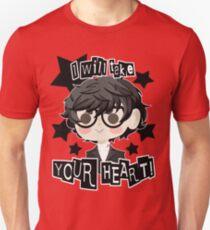 Persona 5 Hero- Black Unisex T-Shirt