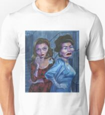 Feud: Bette and Joan caricatures Unisex T-Shirt