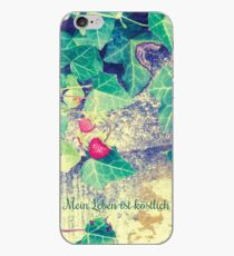 My life is delicious - two strawberries iPhone Case
