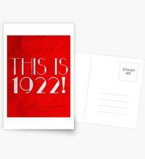 Durch und durch Modern Millie - Das ist 1922! Postkarten