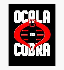 Ocala Cobra Movement Photographic Print