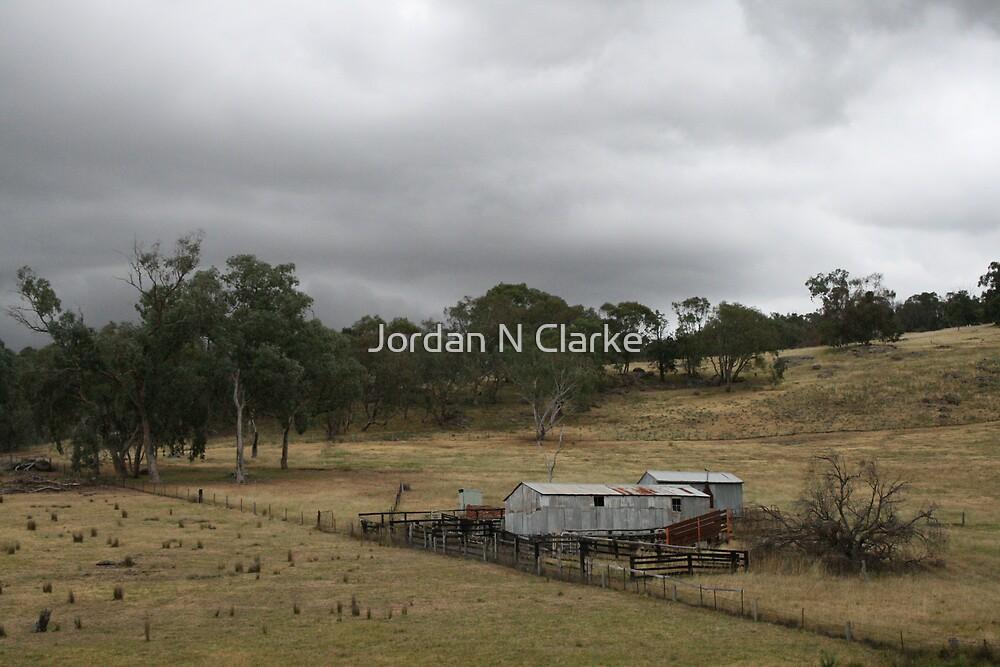 Wool Shed, Felltimber Creek Road, Wodonga, Victoria by Jordan N Clarke