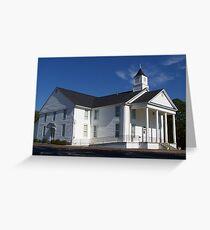 Padgett's Creek Baptist Church Greeting Card