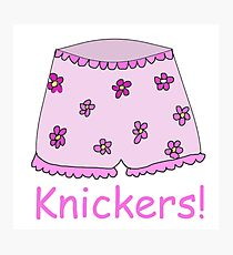 Knickers Photographic Print