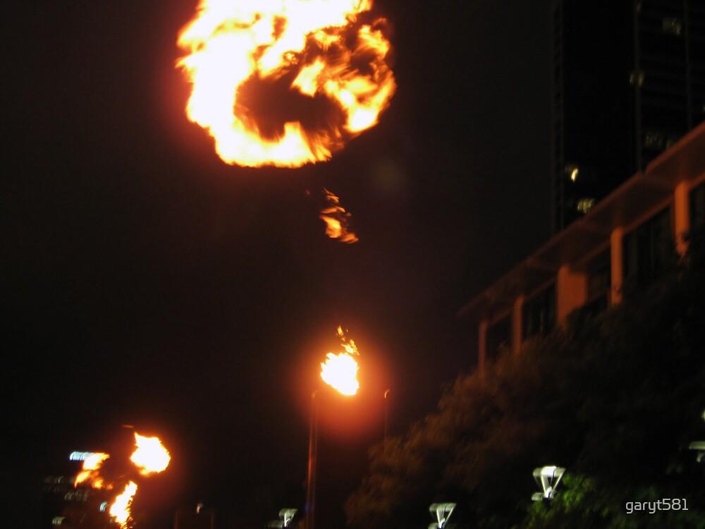 Fire in the sky by garyt581