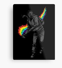 No More Tear Gas Metal Print