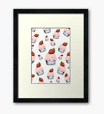 Cute Cupcakes Framed Print