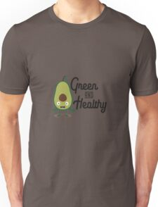 Avocado Green and Healthy Rc318 Unisex T-Shirt