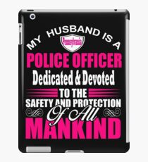 Pennsylvania Police Officer Gifts for Wife State Trooper Pennsylvania Cop iPad Case/Skin