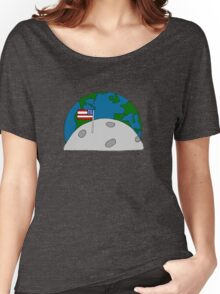 """From the moon ""  Women's Relaxed Fit T-Shirt"