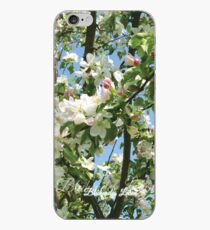 Blossoming life - apple blossoms - Photo iPhone Case