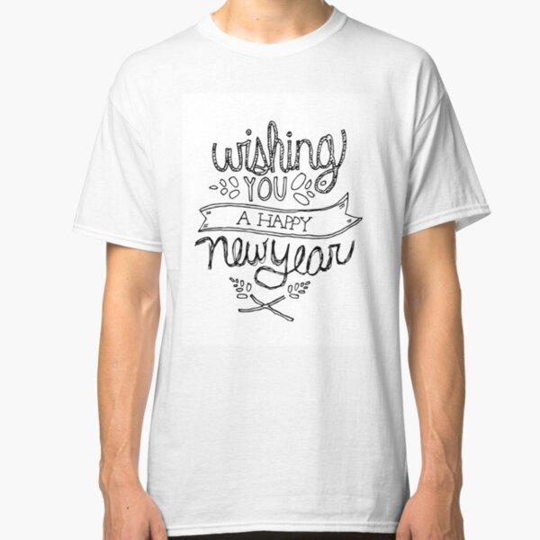 Happy New Year Classic T-Shirt