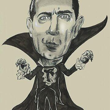 Bela Dracula by Cartoonydan