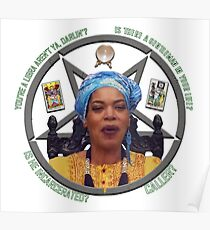 Miss Cleo Knows All Poster