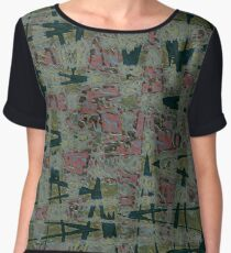 The Abyss Of Abstract Dreams Chiffon Top
