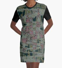The Abyss Of Abstract Dreams Graphic T-Shirt Dress
