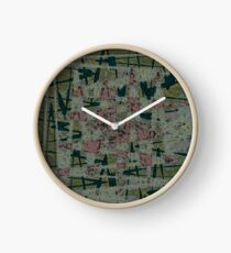 The Abyss Of Abstract Dreams Clock