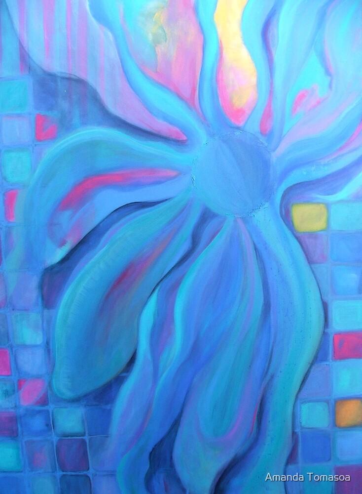 blue fantasy # 2 by Amanda Tomasoa