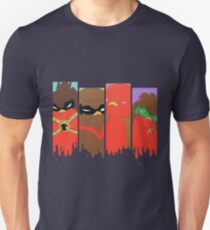 Go!Robins! - 4 Brothers Unisex T-Shirt