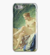 Francois Boucher - Diana Getting Out Of Her Bath iPhone Case/Skin