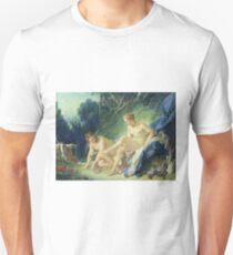 Francois Boucher - Diana verlässt ihr Bad Slim Fit T-Shirt