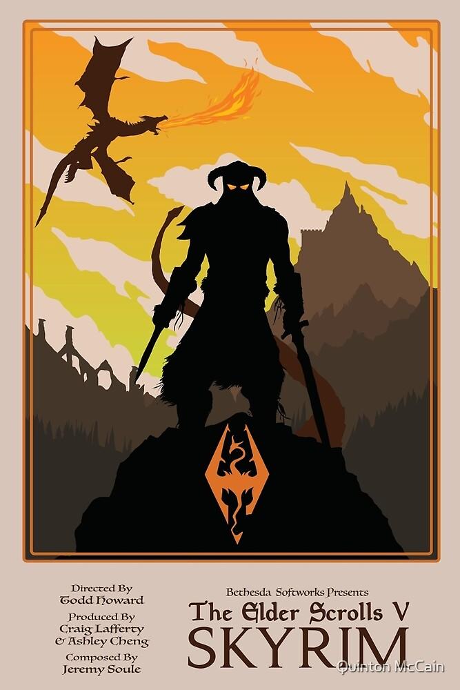 Dovahkiin, Dragonborn by Quinton McCain