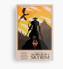 Dovahkiin, Dragonborn Metal Print