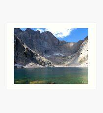 Chasm Lake Art Print