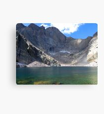 Chasm Lake Canvas Print